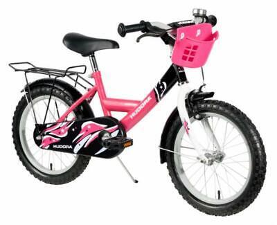 Fahrrad für Mädchen 16 Zoll pink für kleine Fahranfänger (Spielzeug Für Kleine Mädchen)