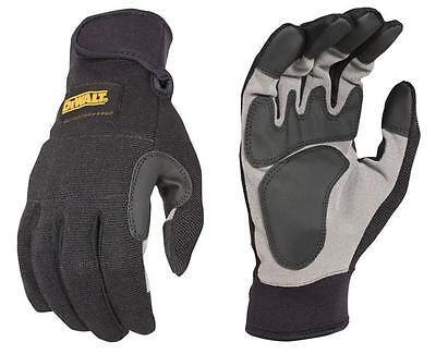 DeWalt DPG217 DPG-217 SecureFit General Utility Work Gloves Medium