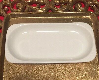 Lufthansa Airline Schonwald Germany Bone China Rectangle Plate-Rare 5 Available