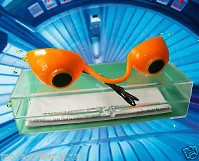 Occhiali da protettivi per nell'abbronzatura con lampadio UV solarium CE