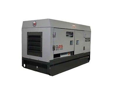 Wacker Neuson Mobile Generators - 5200009370 G25 Generator 3-phase 20kw