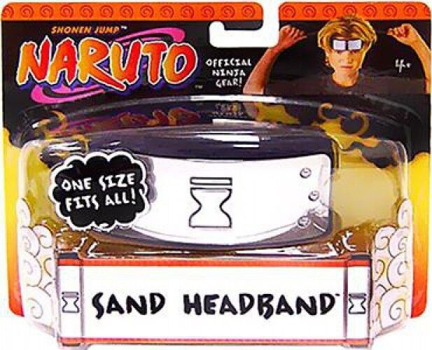 Naruto Sand Village Head Band Roleplay Toy