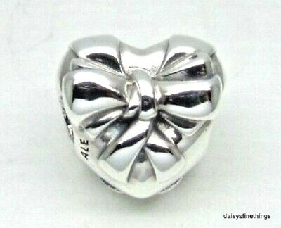NEW/TAGS  AUTHENTIC PANDORA SILVER CHARM BRILLIANT HEART BOW #797303](Pandora Bow Charm)