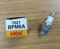 2 X Ngk Bpm6a Spark Plugs Lawnmower Chainsaw Tractor Generator With Resistor - ngk - ebay.co.uk