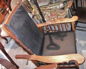 Fauteuil Chêne Chaise Sofa Divan Victorien Causeuse Antique Québec City Québec image 9