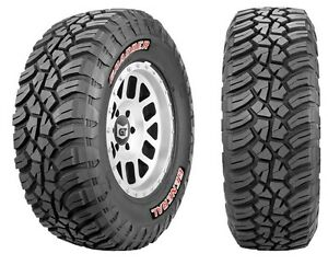 Set of 4 - General Grabber X3 Tires 33X12.50R18LT