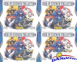 2018-19 Panini NHL Hockey Sticker Collection 4 boxes (200 packs)