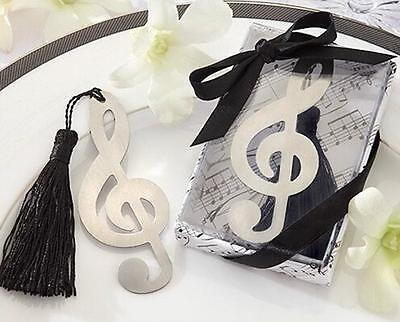 New Music Note Alloy Bookmark Novelty Ducument Book Marker Label Stationery
