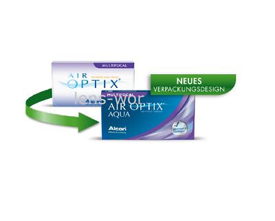Air Optix Aqua Multifocal 1 BOX 6 Stück  preisgünstig 1 x 6 Alcon DHL Versand