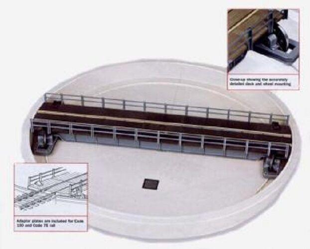 PECO LK55 00 SCALE Turntable