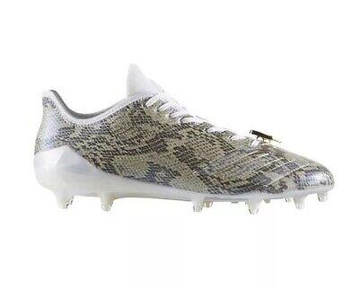 8f051311bd1 Adidas Adizero 5 Star 6.0 Uncaged Football Cleats BY3790 Men s US 10.5  Snakeskin