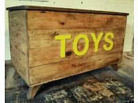 Handmade Reclaimed Wood Toybox