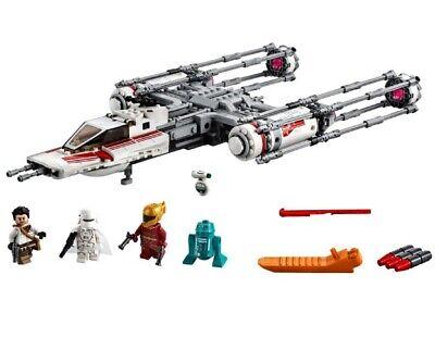 Lego Star Wars Resistance Y-Wing Fighter - 75249 IP6 lot L0819 5702016370744