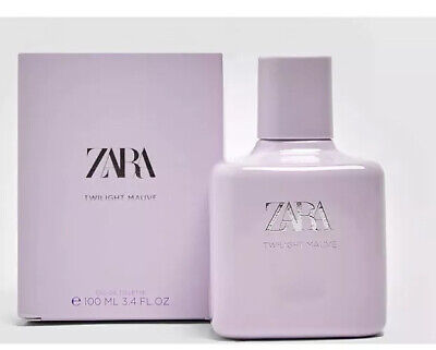 ZARA WOMEN TWILIGHT MAUVE EAU DE TOILETTE FRAGRANCE 100 ml BRAND NEW AND SEALED