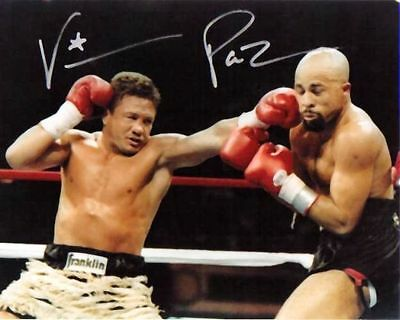 Vinny Pazienza Signed Autographed 8x10 Photo  w/COA Boxing