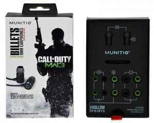 Munitio-Call-of-Duty-Modern-Warfare-3-Billets-LN-9mm-Earphones-Headset-COD-MW3