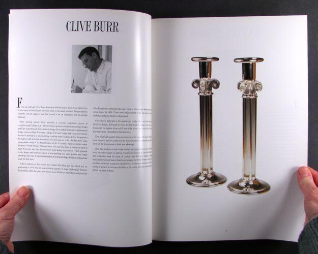 Book: London Master Silversmiths & Jewelers -Contemporary Craftsmen Exhibit