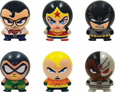 12 DC COMICS BUILDABLE FIGURINES WONDER WOMAN BATMAN SUPERMAN BUILDABLES TOYS