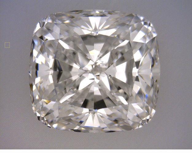 3 carat Cushion cut diamond GIA certificate K color SI1 clarity, loose