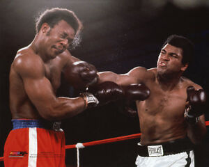 1974-Boxing-MUHAMMAD-Ali-GEORGE-FOREMAN-8x10-Photo-Rumble-in-the-Jungle-Print