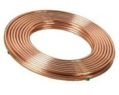 1/2 inch x 50 ft. Soft Copper Tubing - Refrigeration ACR Tubing - High Quality ()