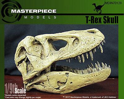T-Rex Skull 1/9th scale unpainted replica