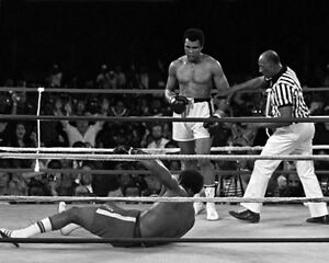 1974-Boxing-MUHAMMAD-Ali-vs-GEORGE-FOREMAN-8x10-Photo-Rumble-in-the-Jungle-Print