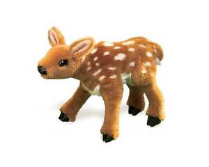 Fawn Hand  Puppet with Moveable Mouth T2573  - New