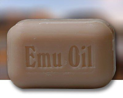 The Soap Works Emu Oil Soap Bar (110 g)  For dry, irritated or damaged skin