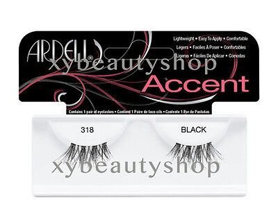 (4 Pairs Ardell Natural Accent 318 Fashion Lash Fake Eyelashes Black)