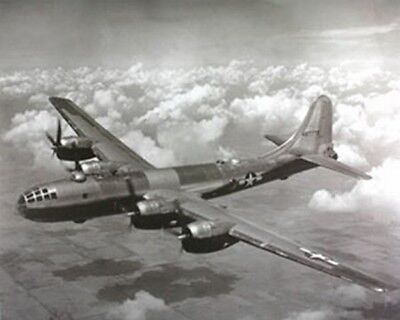 WWII B-29 Super Fortress Airplane Aviation Art Print Poster (16x20)