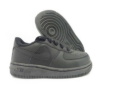 Nike Air Force 1 Low Boys Infant / Toddlers Casual Shoes Black 314194-009 1 Infant Toddlers Black Shoes