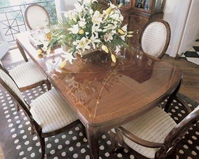 Thomasville Furniture Bogart Bel Air Mahogany Dining Table NO LEAVES Breeze Dining Table