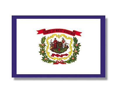 West Virginia State Flag 4' x 6', 100% Nylon, Annin Flag
