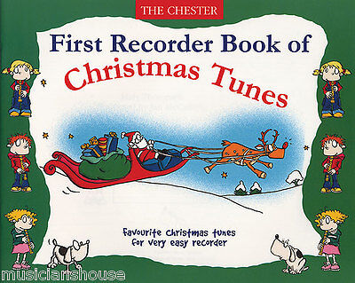 Play Easy Recorder Christmas Learn to Play Xmas Songs Carols Music Book ()