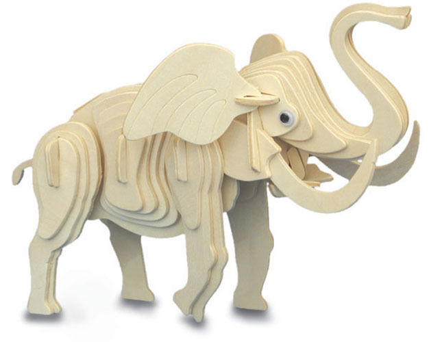 ELEPHANT Woodcraft Construction Kit - High Quality