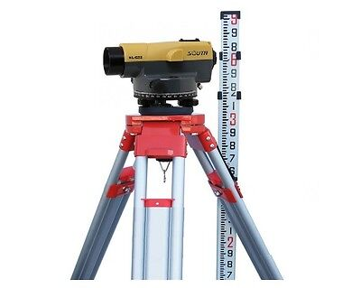 SOUTH NLC32 32X Auto level with hard case, level rod and tripod Package