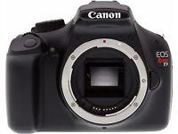 Canon EOS 1100D/Rebel T3 12.2 MP Digital SLR Camera - Black(Body Only)