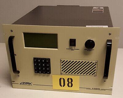 Astex A-2500 Ulvac Microwave Generator Tag 08