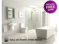 JS Plumbing & Bathrooms Specialist Bathroom Fitters (Supply/Design/Tiling) From £300!