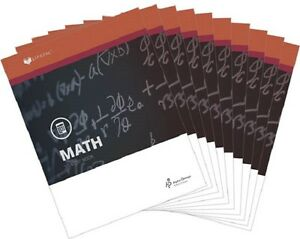 Alpha Omega Lifepac Math 7th Grade Student Workbooks Set