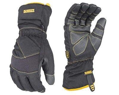 DeWalt Cold Weather Insulated Work Gloves DPG750 MED Winter