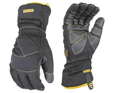 DeWalt Cold Weather Insulated Work Gloves DPG750 XL Winter