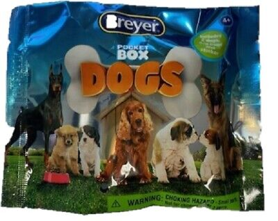 Breyer Mystery Pocket Box Dogs Blind Bags Dog Model #1590
