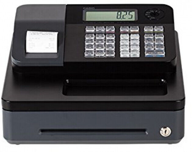 Electronic Cash Register Programmable Lockable High Speed Tax Function Display