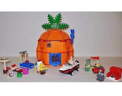 Lego Spongebob Squarepants 3834 Good Neighbors Bikini Bottom Complete W/ Manual