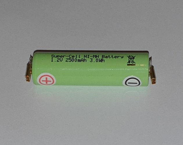 Ersatz-Akku -Spezial- für WELLA CONTURA HS40 HS41 Haarschneider 1,2V 2500mAh
