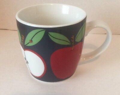 Red Apple Coffee Mug Cobalt Blue Now Design Red Apple Design