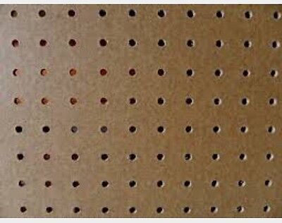 Pack Of 3 600x600mm Pegboard Sheets 3.5mm Thick 18mm Hole Centre