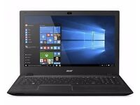 Acer 15.6 Es15 Intel Pentium 8GB RAM 1TB HDD Dvdrw Black Laptop